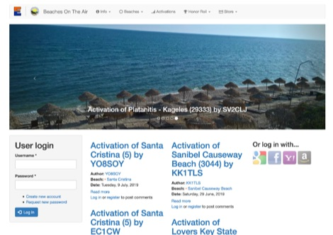 DXZone BOTA Beaches on the Air