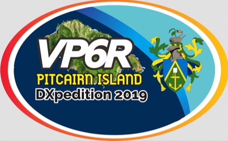 VP6R Pitcairn Island DXpedition 2019