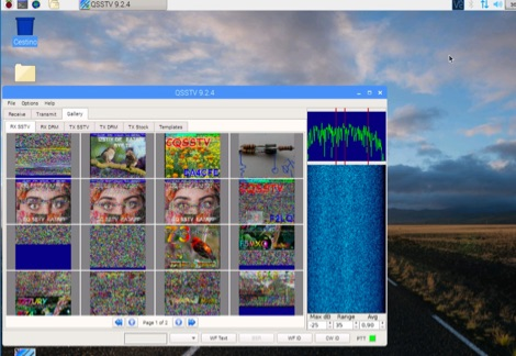 DXZone Guide to decode SSTV with RaspberryPi and RTL-SDR