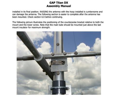 DXZone Gap Titan DX Assembly Manual by AE2A