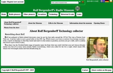 Bergendorffs Radiomuseum