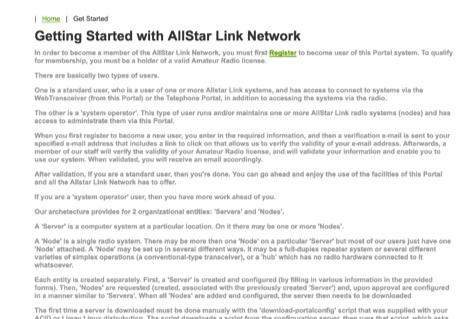 DXZone AllStar Link Network - Getting Started