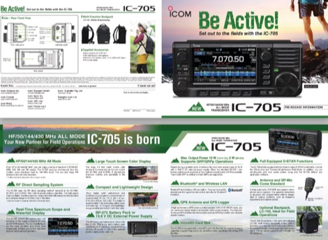 DXZone IC-705 English Brochure
