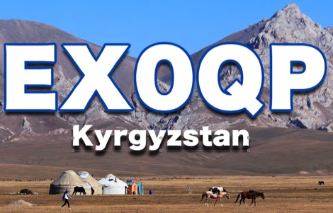 EX0QP - DXpedition to Kyrgyzstan