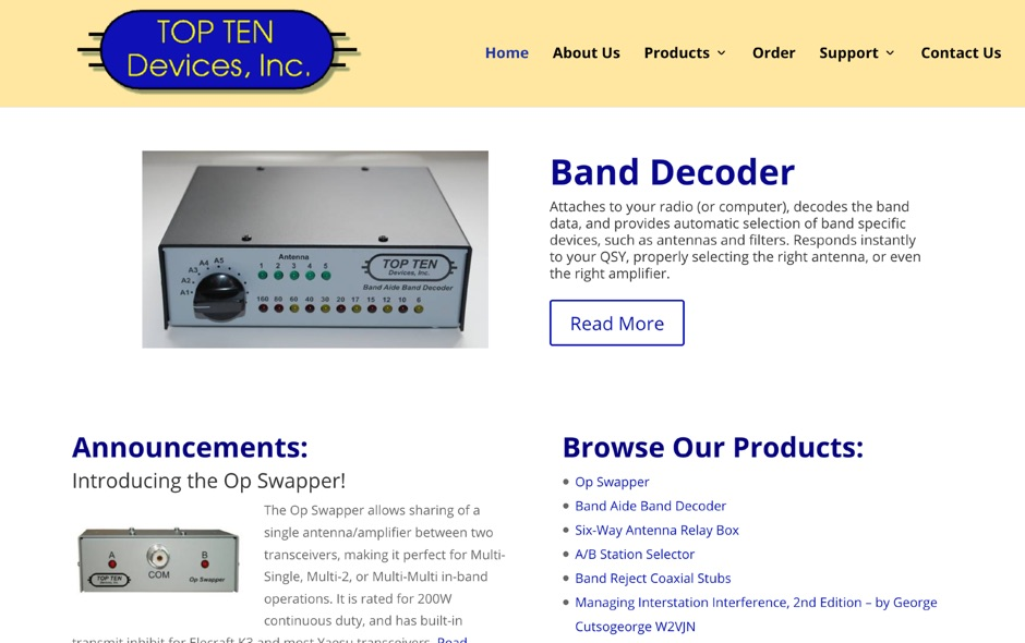 Top Ten Devices