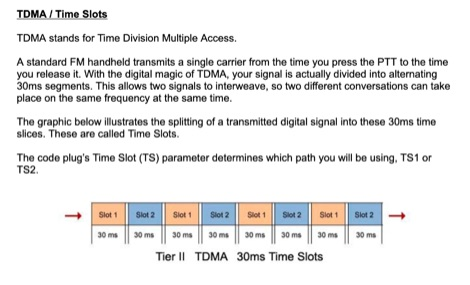 Guide to DMR Code Plugs