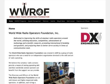 DXZone World Wide Radio Operators Foundation