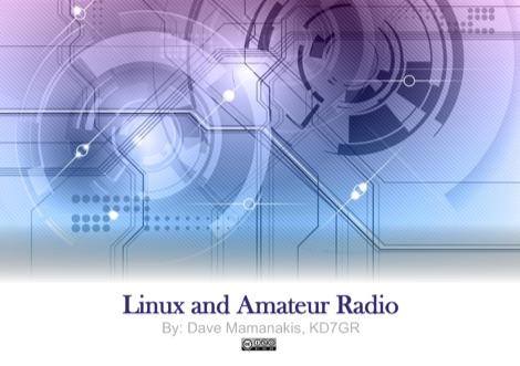 DXZone Linux and Amateur Radio - Presentation