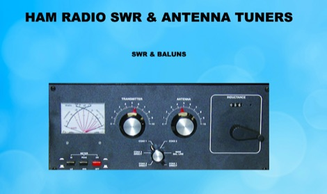 SWR and Amateur Radio Antenna Tuners