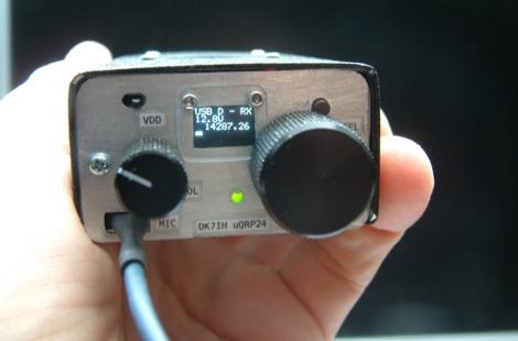 DXZone Micro24 Cigarette Pack SSB QRP Transceiver for 20m