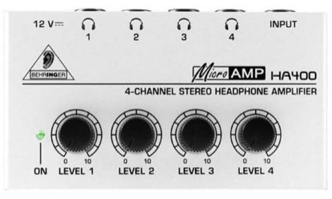 Behringer HA400 Headphone Amplifier and RFI