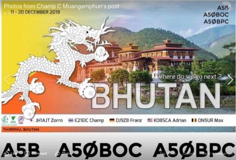 DXZone A5B A50BOC A50BPC Buthan 2019