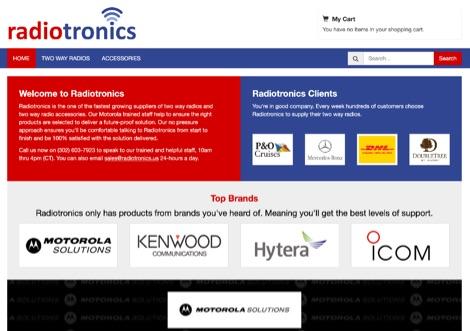 DXZone Radiotronics Two Way Radios