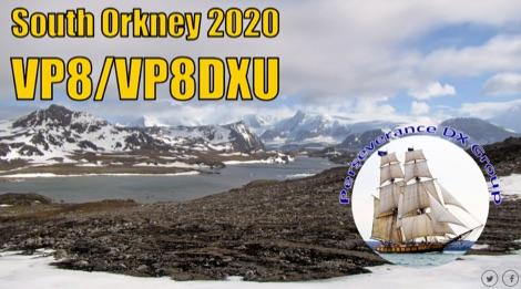 DXZone VP8DXU South Orkney Islands DXPedition