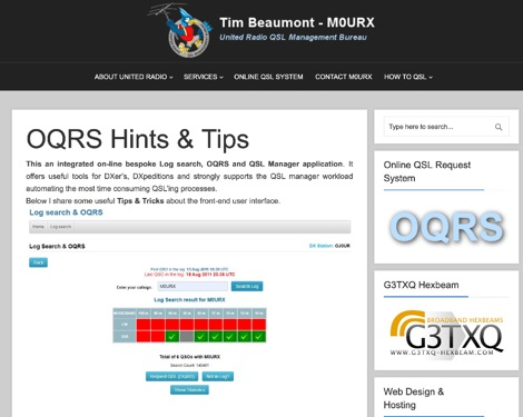 DXZone OQRS Hints and Tips Explained
