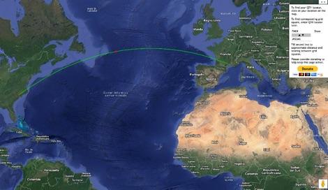 DXZone Interactive Ham Radio Locator Map