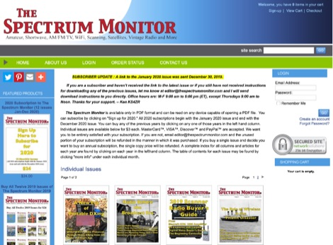 DXZone The Spectrum Monitor