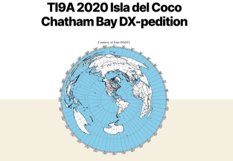 DXZone TI9A Isla del Coco Chatham Bay DX-pedition