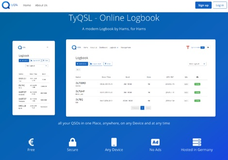 TyQSL - Online Logbook
