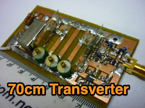 DXZone 70cm Mini-Transverter Project