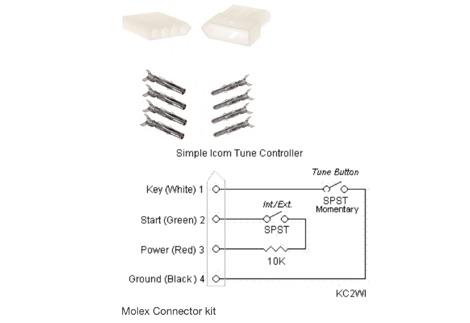 DXZone ICOM Tuner Connector