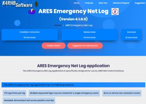DXZone Emergency Net Log