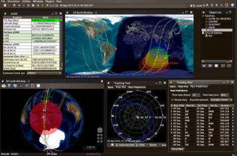 DXZone JSatTrak - Satellite tracking program