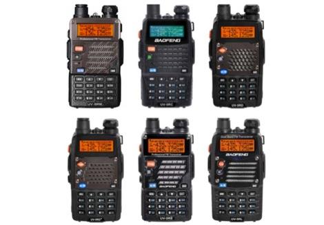 DXZone Baofeng UV5R vs UV82 Series