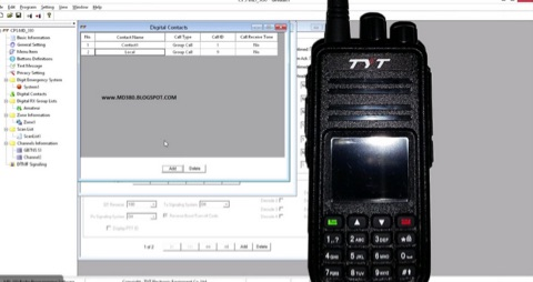 DXZone TYT MD-380 firmware modification