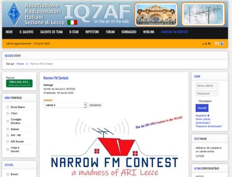 DXZone Narrow FM Contest 2020