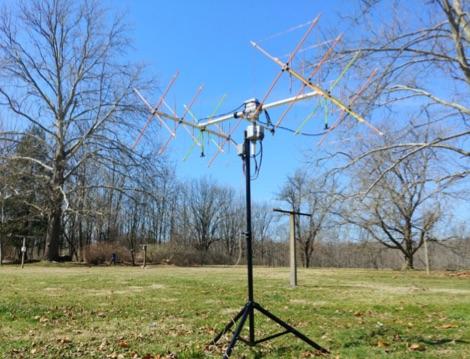DXZone Mini Satellite-Antenna Rotator Mk1