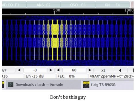 DXZone Digital Mode General  Operating Tips