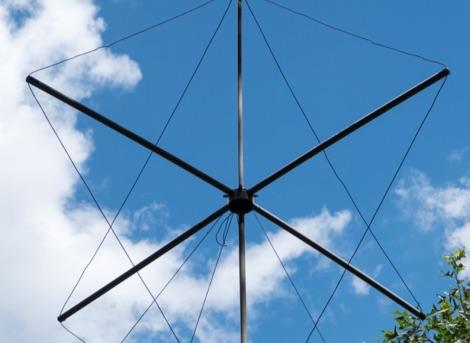 DXZone 6 Meter Quad Turnstile Antenna