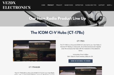 DXZone VE2DX Electronics