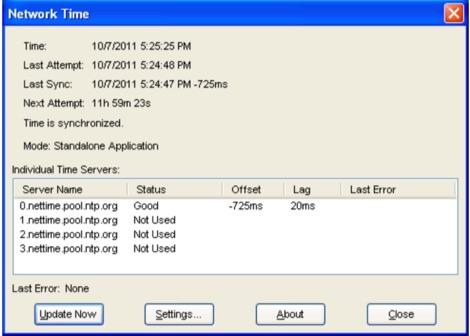 DXZone NetTime for Windows