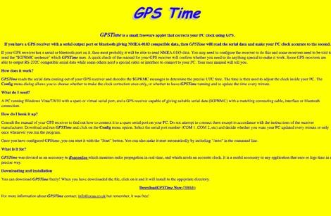 DXZone GPS time