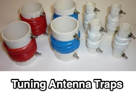 DXZone Tuning Antenna Traps