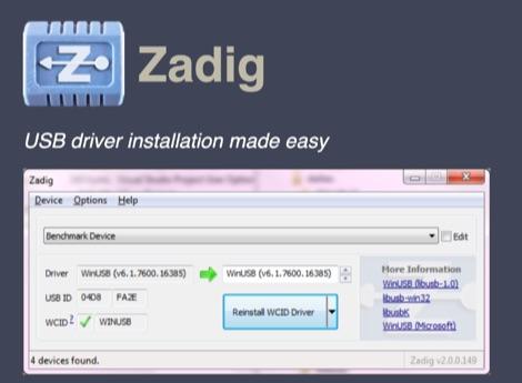 DXZone Zadig Windows 10 RTL-SDR Driver