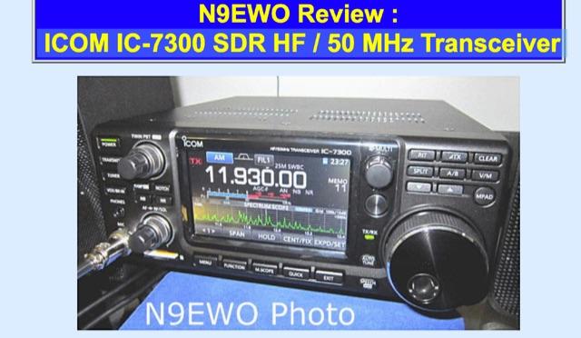DXZone ICOM IC 7300 review by N9EWO