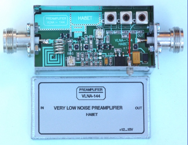 DXZone 144 MHz Very Low Noise Preamplifier