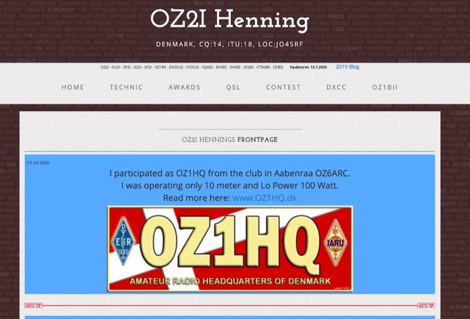 DXZone OZ2I Henning