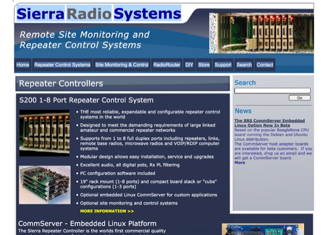 DXZone Sierra Radio Systems