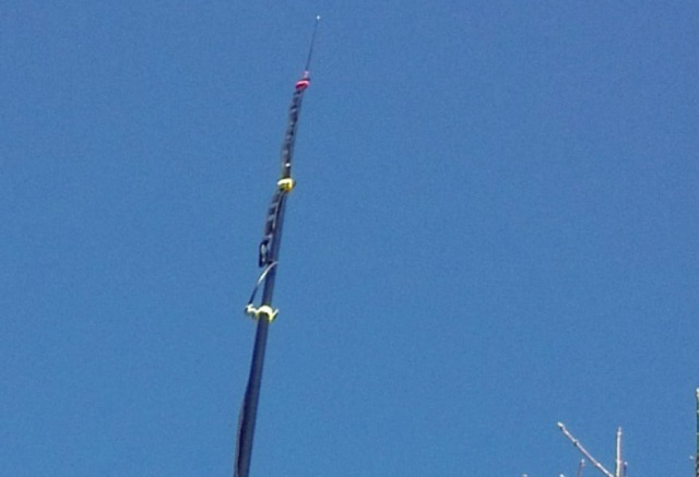 DXZone 2m Slim-Jim Aerial using Ladder-Line