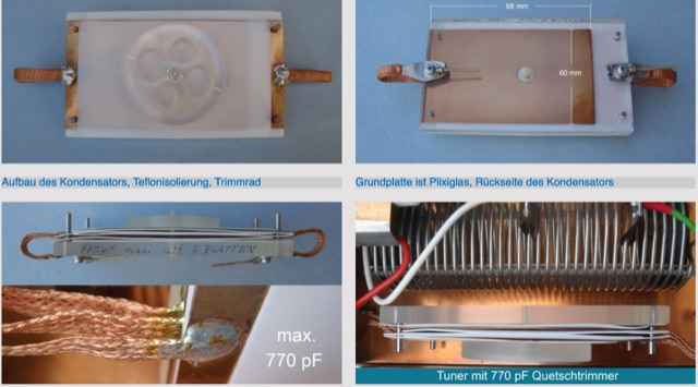 DXZone Homemade capacitors