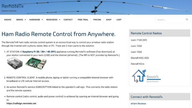 DXZone RemoteTX
