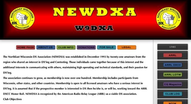 DXZone The NorthEast Wisconsin DX Association