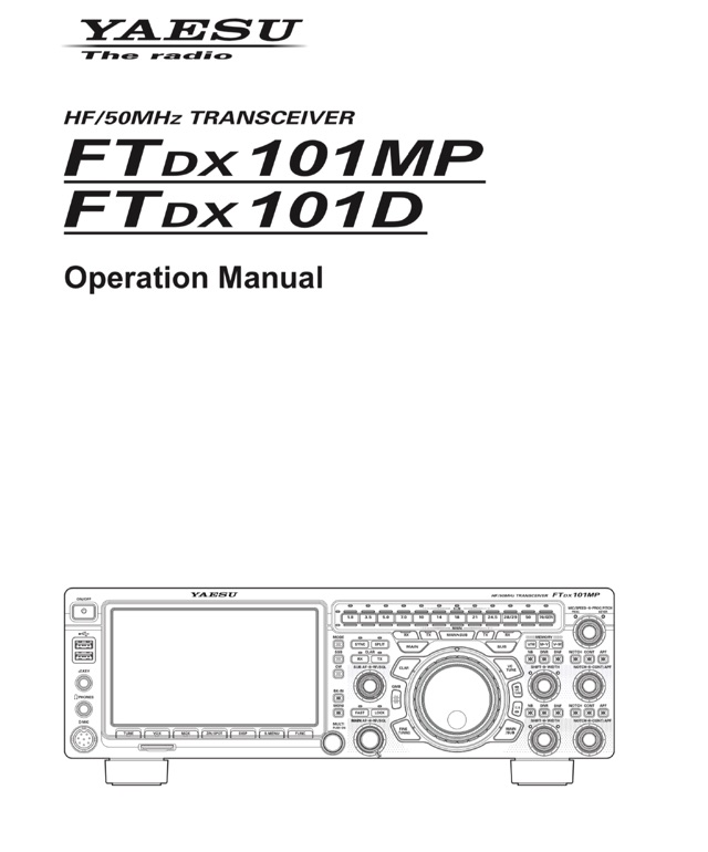 DXZone Yaesu FT DX 101 Operating Manual