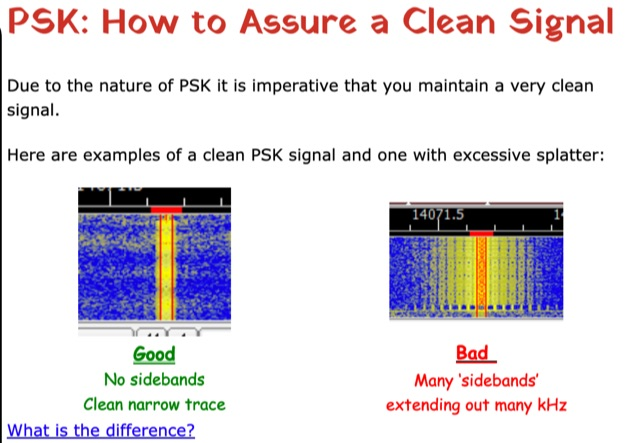 DXZone PSK: How to Assure a Clean Signal