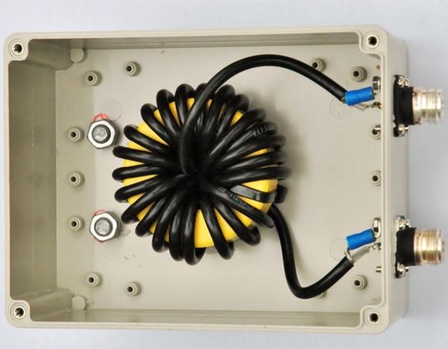 Choking balun for 160-30 meter band