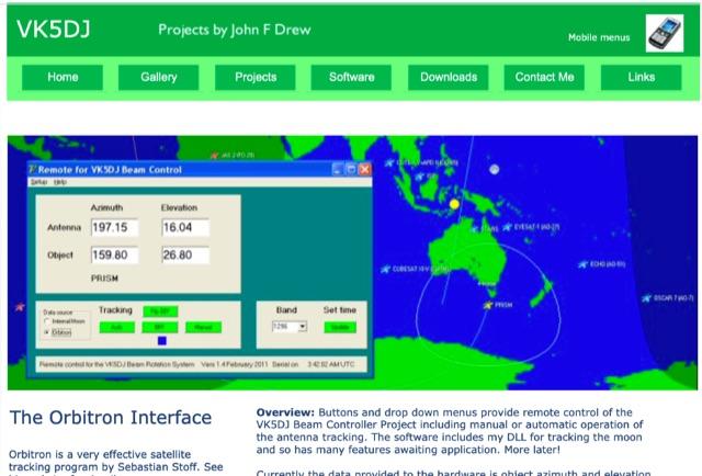 DXZone Remote Orbitron Interface